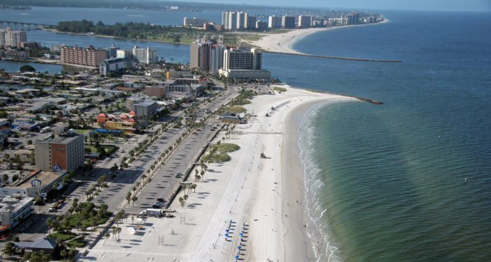 Tour the beaches of Pinellas County